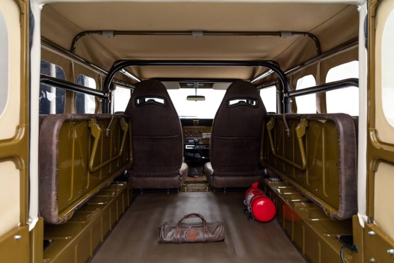 back seats folded