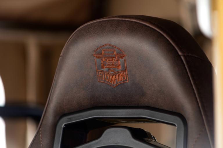 FJcompany logo seat
